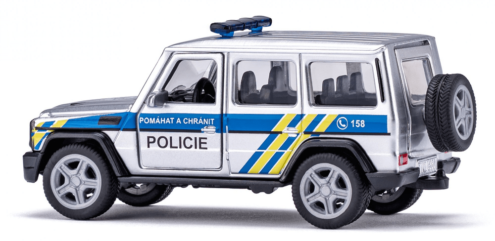 """На сваком чешком полицијском аутомобилу стоји знак """"Помагати и заштитити""""."""